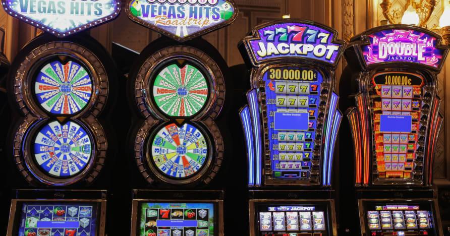 Spelautomater som pumpar i Fortunes