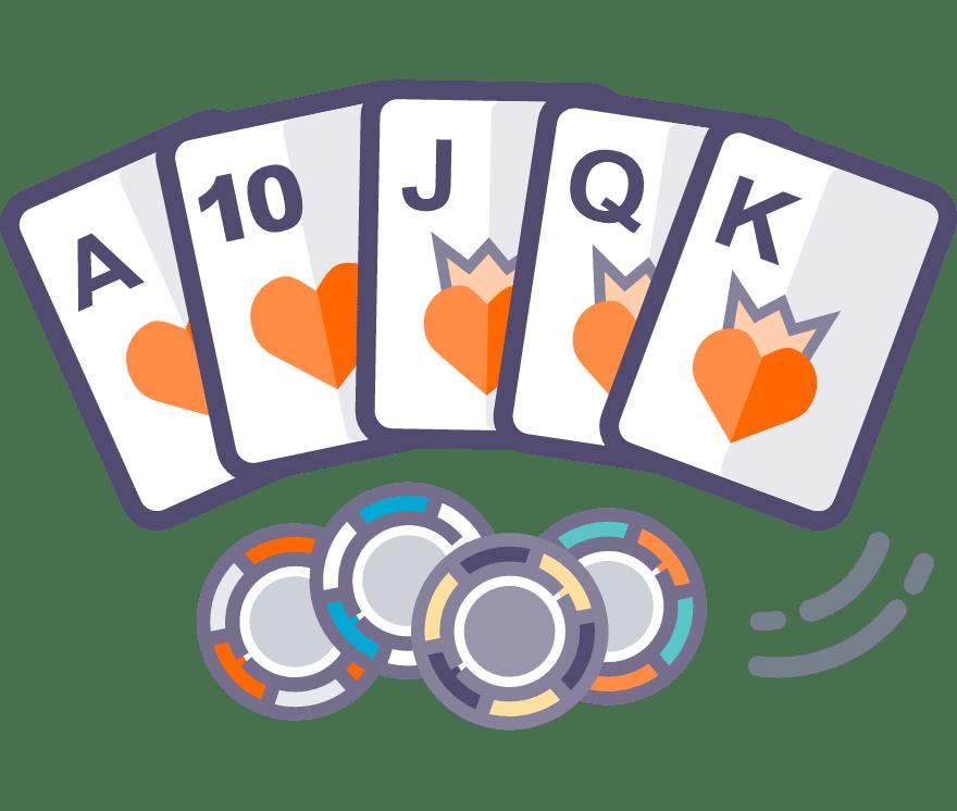 10 Bästa Texas Holdem Online Casinos 2021