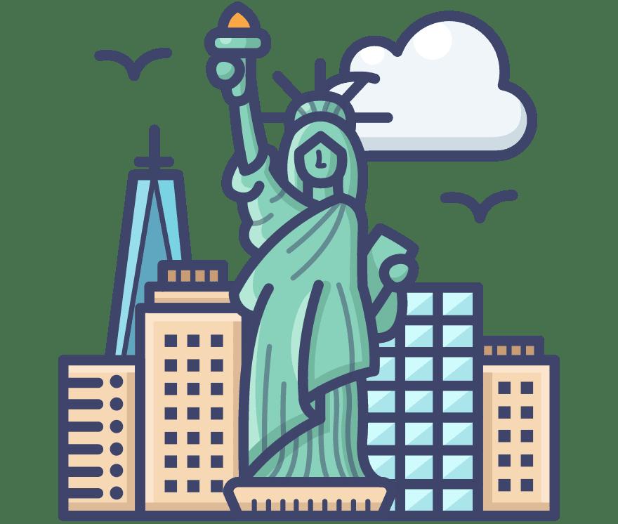 5 Online casinon i Förenta staterna 2021